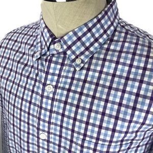 NWT J. Crew slim fit gingham L/S button down shirt